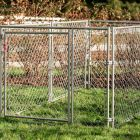 DIY Chain Link Pet Kennel, 4'H x 5'W x 10'L   Lucky Dog