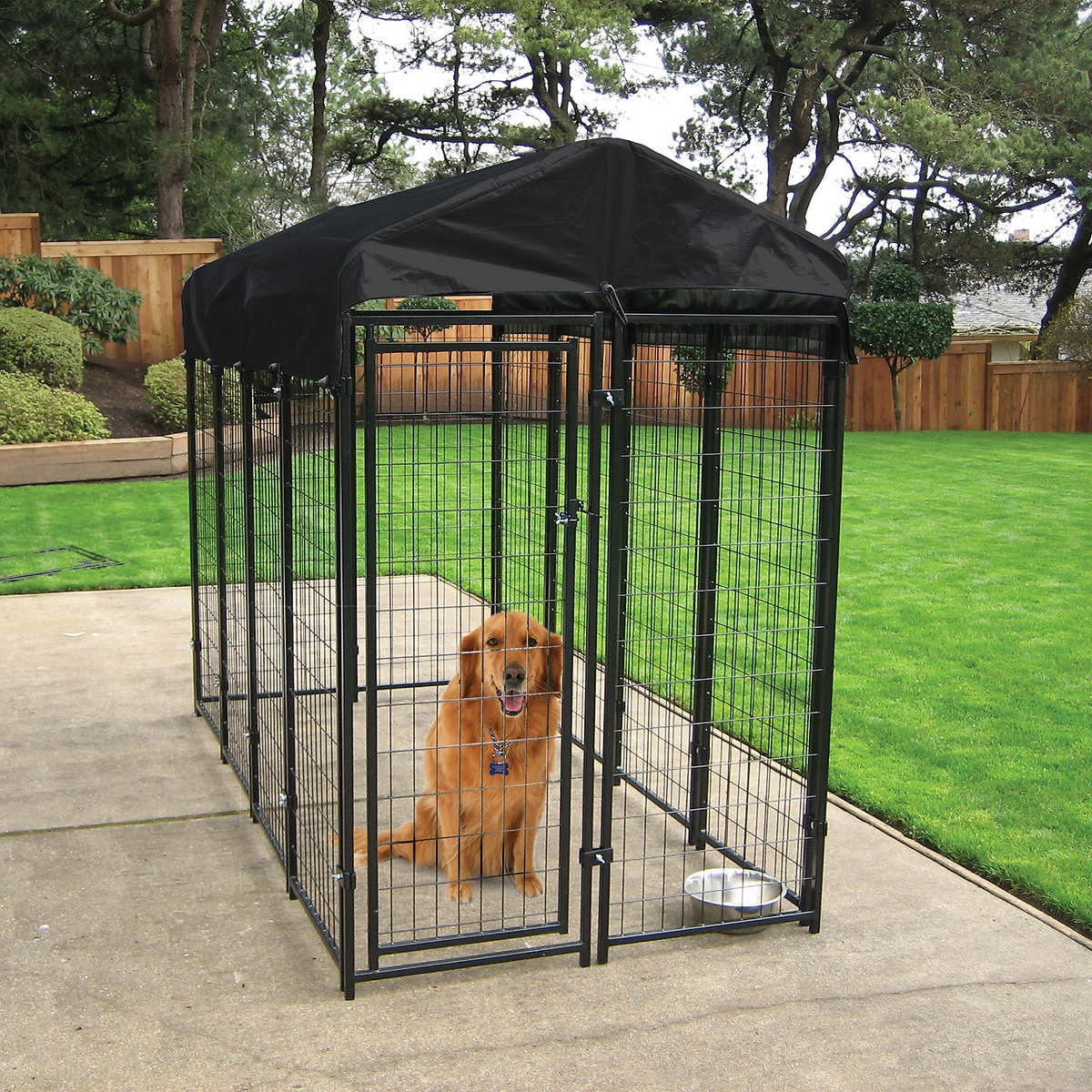 Lucky Dog® Uptown 4' x 8' Kennel